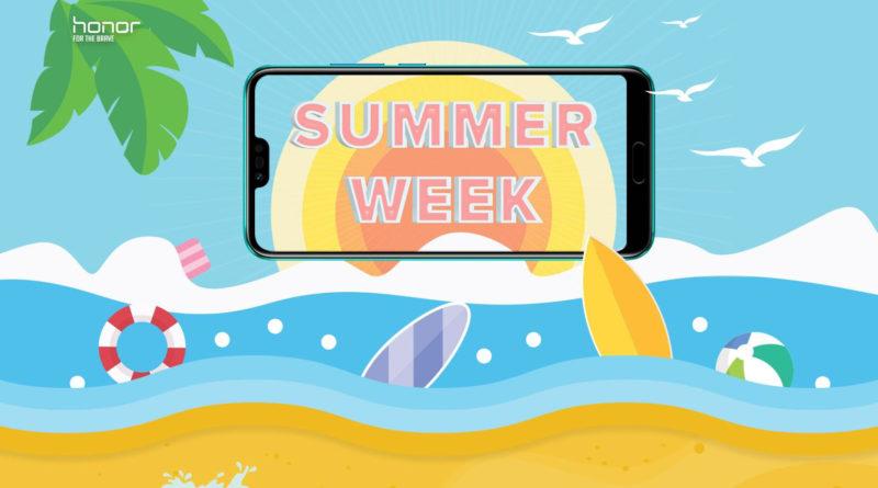 Honor Summer Week