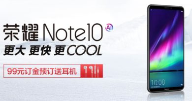 Honor Note 10 presale