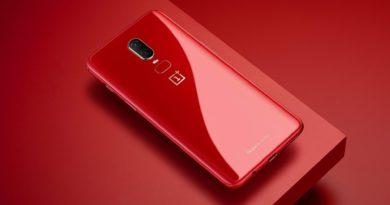 OnePlus 6 Rouge