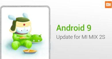 Android Pie MIUI 10