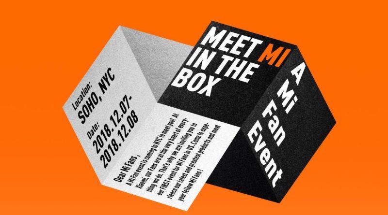 Xiaomi Meet Mi in The Box NYC